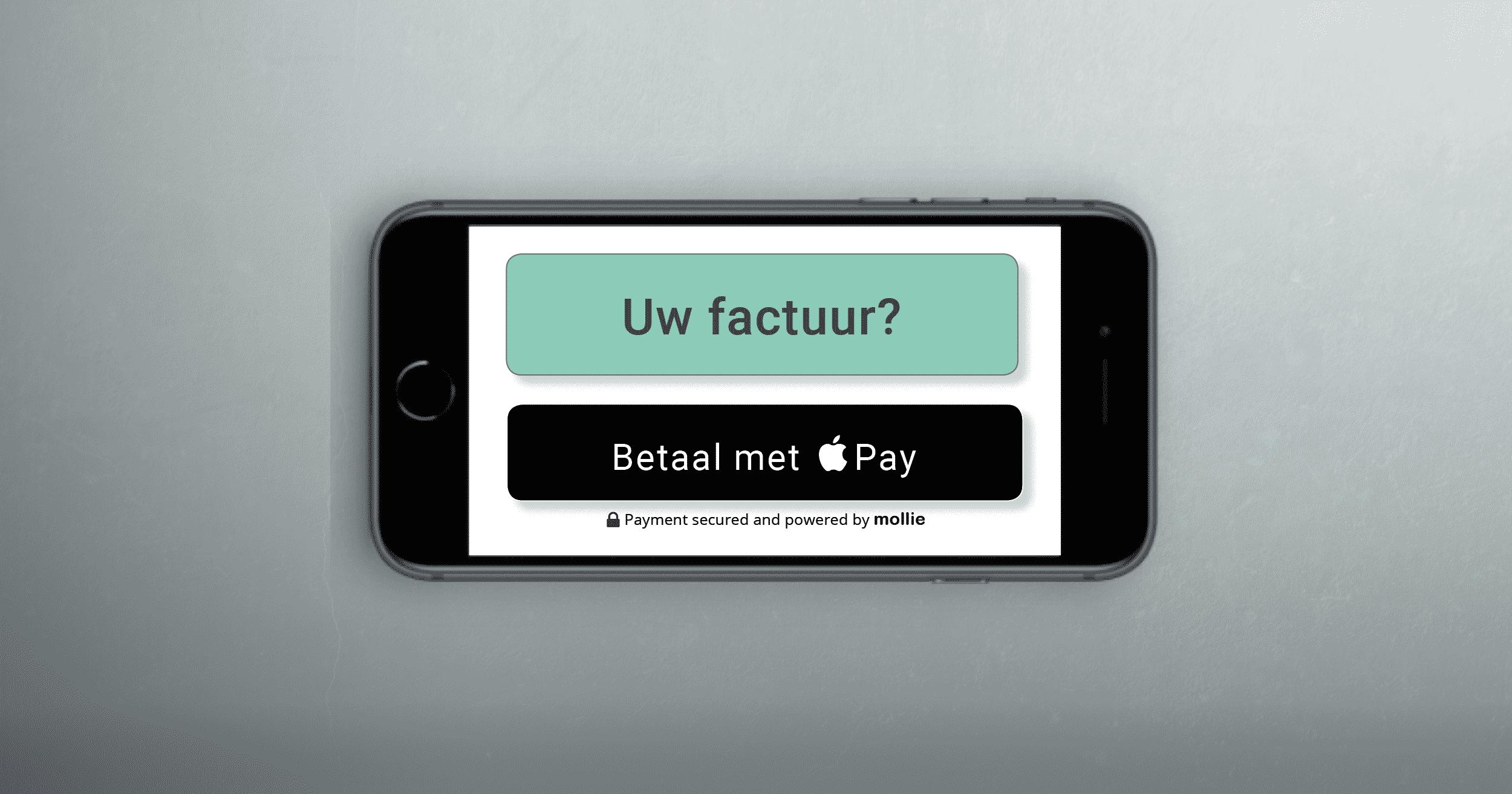 Credit Care Maakt Het Mogelijk Om Facturen Te Betalen Via Apple Pay
