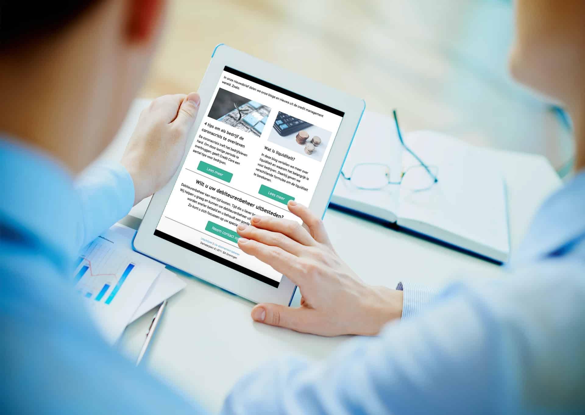 Nieuwsbrief Credit Care